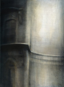 "Maya Kulenovic: EUROPA, 2013, oil on canvas, 40"" x 30"" (102cm x 76cm). 'Build' Series."