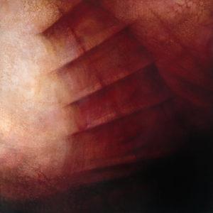 "Maya Kulenovic: REEF, 2013, oil on canvas, 50"" x 50"" (127cm x 127cm), 'Build' Series."